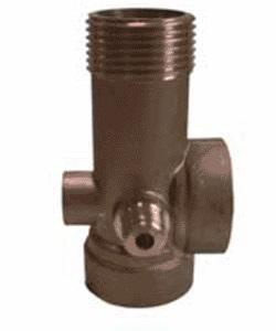 Штуцер UNIPUMP 5-ти выводной 90мм латунь arlight коннектор выводной fix mono10 1s 15cm