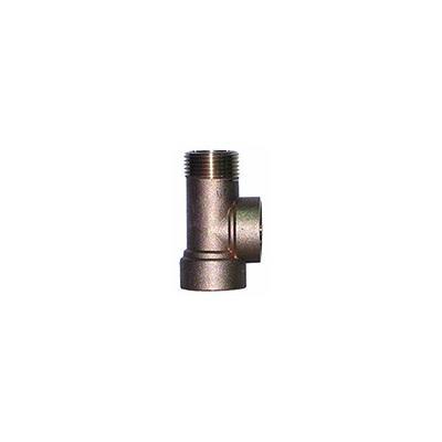 Штуцер UNIPUMP 3-х выводной латунь