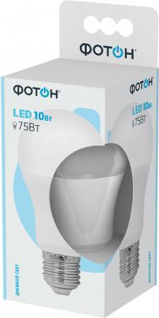 Лампа светодиодная ФОТОН A60 10W E27 4000K цена