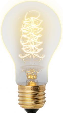Лампа накаливания UNIEL VINTAGE IL-V-A60-40/GOLDEN/E27 CW01 E27 40Вт колбаA60 форма нитиCW01 uniel tac 12cpa v