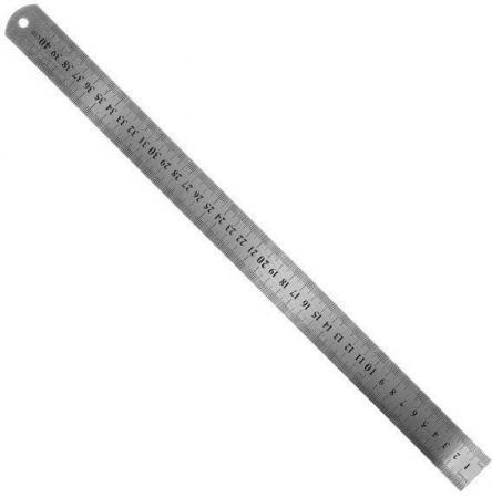 Линейка Fit 19004 40 см нержавеющая сталь