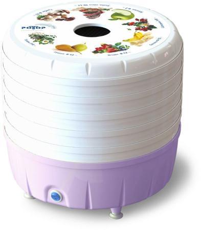 Сушилка для овощей и фруктов Ротор Люкс СШ-023 белый сушилка для овощей и фруктов ротор сш 002