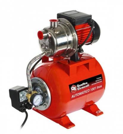 цена на Насосная станция QUATTRO ELEMENTI Automatico 1001 Inox 910-218 1000 Вт 3600л/ч д/чистой воды 40м