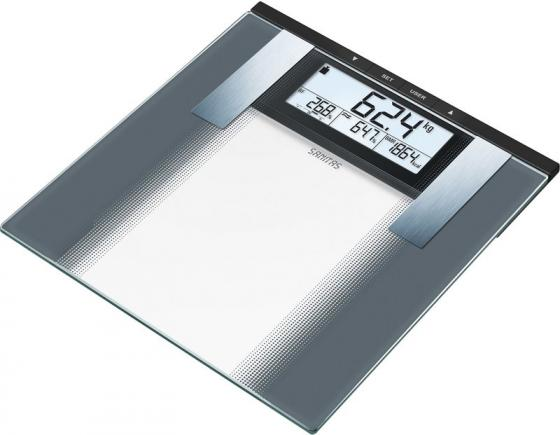 Весы напольные электронные Sanitas SBG 21 макс.180кг прозрачный