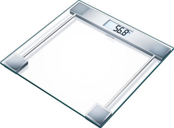 Весы напольные электронные Sanitas SGS06 макс.150кг серебристый