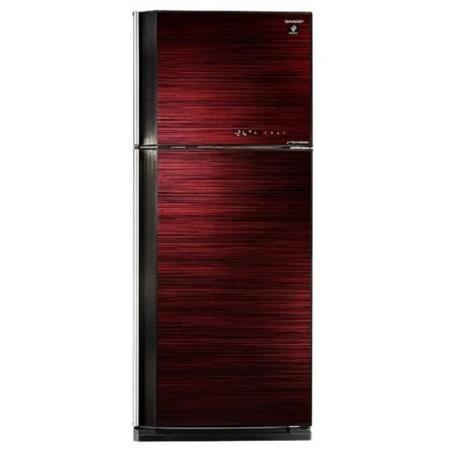 Холодильник Sharp SJ-GV58ARD красный черный