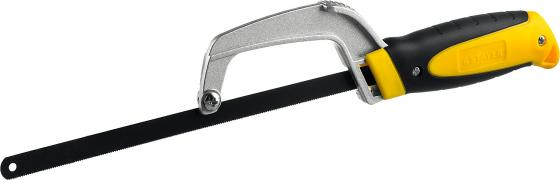 Ножовка STAYER 15715 ручка по металлу трехкомпонентная рукоятка металлическая державка 300мм ножовка по металлу stayer master 1577 z01