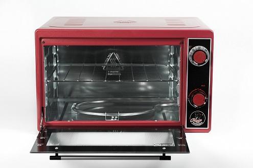 Мини-печь Чудо Пекарь ЭДБ-0122 черный/красный чудо пекарь эдб 0122
