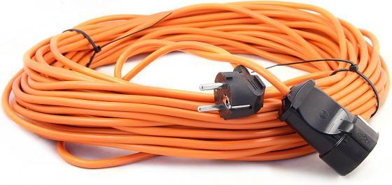 Удлинитель LUX УС1-Е-50 силовой б/катушки пвс 3x0.75 50м 10А 1 розетка с з/к