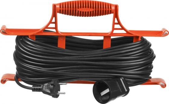 Удлинитель электрический STAYER MAXElectro 55018-30 на рамке, 30 м, 1 гнездо удлинитель stayer 20м на рамке 55018 20