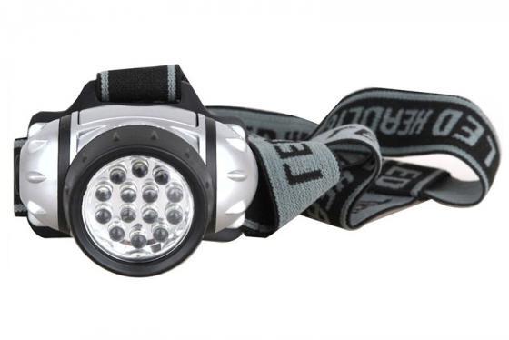 Фото - Фонарь налобный Ultraflash LED5352 серебристый ultraflash