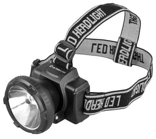 Фонарь ULTRAFLASH LED5364 налобн аккум 220в черный 0.5 ватт led 2 реж пласт бокс фонарь led lenser f1 цвет черный