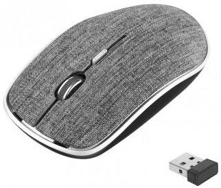 Мышь беспроводная Perfeo PF-3824-WOP-GR серый USB мышь беспроводная perfeo pf 763 wop w y белый жёлтый usb радиоканал