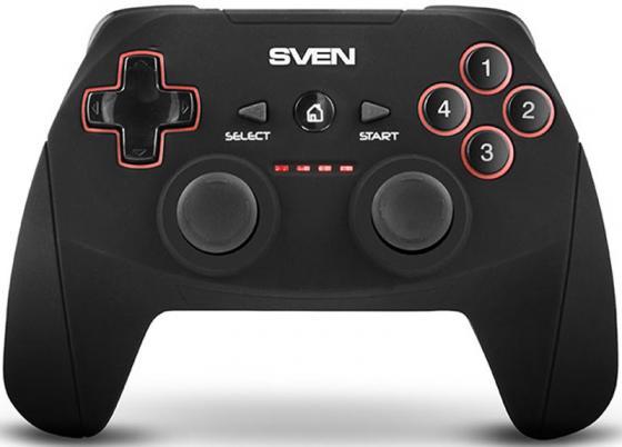 SVEN GC-2040 Беспроводной геймпад [SV-015985] геймпад sven x pad sv 063007 провод 14 клавиш d pad 8 позиц 2 мини джой резиновые вставки