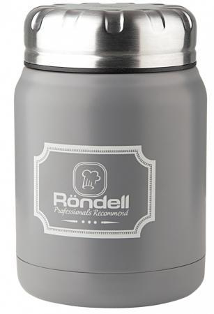 943-RDS Термос для еды 0,5 л Grey Picnic Rondell creeper oxford lunch picnic insulation bag grey