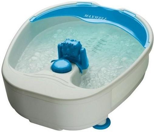 2451-MW(В) Массажн.ванночка Maxwell Мощность 90 Вт.Поддержание температуры воды. ванна для ног maxwell mw 2451 pk