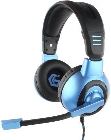 Гарнитура Gembird MHS-G55 черный синий gembird mhs 780b