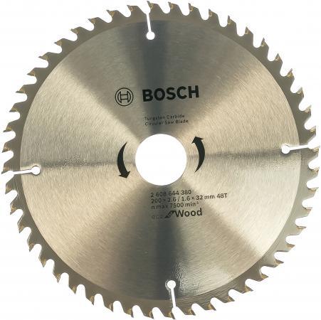 цена BOSCH 2608644380 Пильный диск ECO WO 200x32-48T