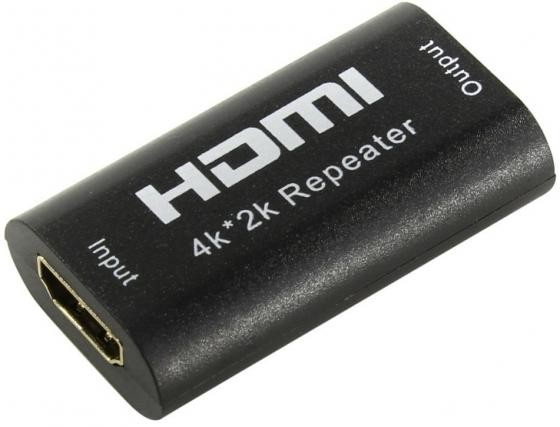 Фото - Переходник HDMI VCOM Telecom DD478 черный переходник dp hdmi telecom ta801 0 2 м