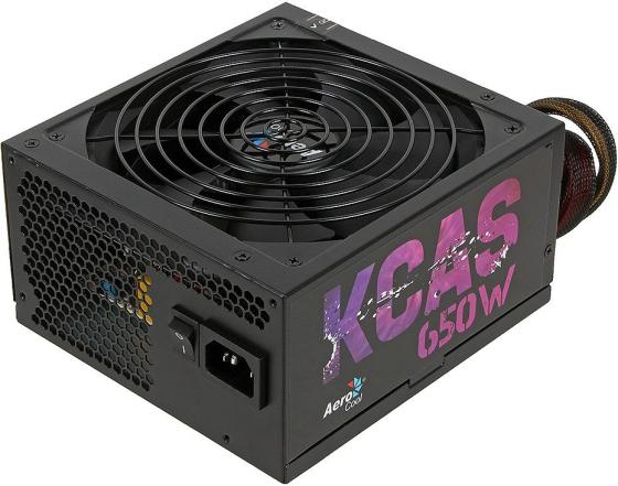 Фото - Блок питания ATX 650 Вт Aerocool KCAS-650M PLUS блок питания accord atx 1000w gold acc 1000w 80g 80 gold 24 8 4 4pin apfc 140mm fan 7xsata rtl
