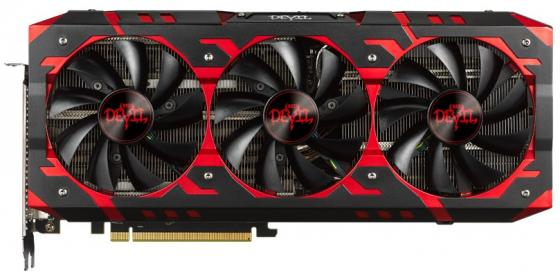 Видеокарта PowerColor Radeon RX Vega 64 Red Devil RX VEGA 64 8GB HBM2 PCI-E 8192Mb 2048 Bit Retail AXRX VEGA 64 8GBHBM2-2D2H/OC видеокарта sapphire radeon rx vega 56 11276 01 40g pci e 8192mb 2048 bit retail