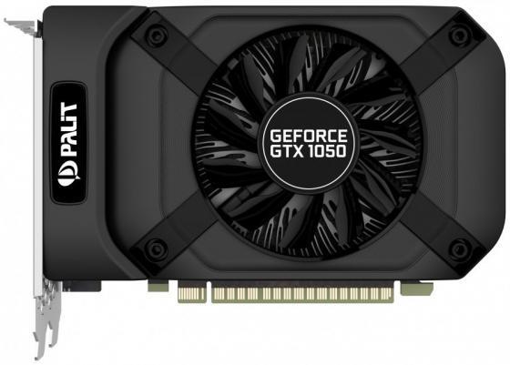 Видеокарта Palit GeForce GTX 1050 GeForceGTX 1050 StormX PCI-E 3072Mb 96 Bit Retail NE51050018FE-1070F видеокарта palit geforce gtx 1050 stormx 1354mhz pci e 3 0 2048mb 7000mhz 128 bit dvi hdmi hdcp ne5105001841 1070f