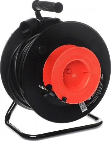 ЭРА Б0033018 Удлинитель силовой RP-1-3х0.75-40m с заземлением 1 гн 3х0.75мм пластиковая катушка удлинитель эра силовой с заземлением 4 розетки rm 4 3x1 40m 40 м