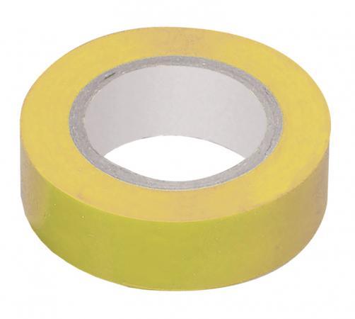 Iek UIZ-13-10-K05 Изолента 0,13х15 мм желтая 20 метров ИЭК 2166 k05
