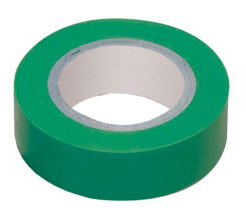 Iek UIZ-13-10-K06 Изолента 0,13х15 мм зеленая 20 метров ИЭК