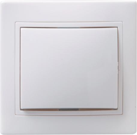 Выключатель IEK EVK10-K01-10-DM 10 A белый