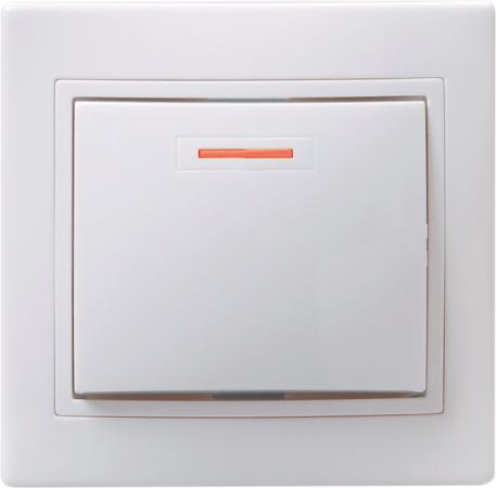 Выключатель IEK EVK11-K01-10-DM 10 A белый