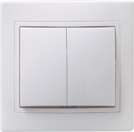 Выключатель IEK EVK20-K01-10-DM 10 A белый