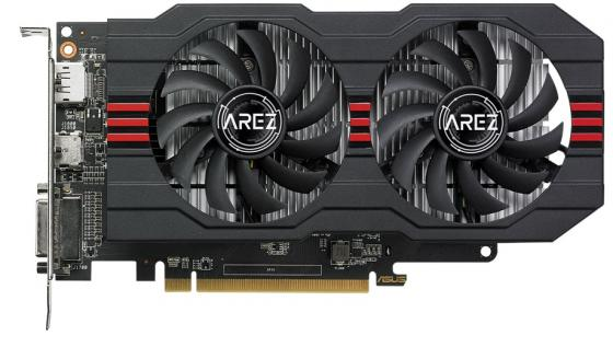 Видеокарта ASUS Radeon RX 560 AMD Radeon RX 560 AREZ-RX560-2G-EVO PCI-E 2048Mb 128 Bit Retail 90YV0AHD-M0NA00 цена