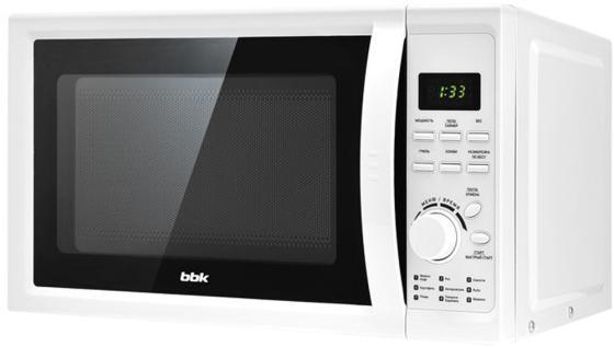 Микроволновая печь BBK BBK 20MWG-742T/W G 700 Вт белый цена и фото