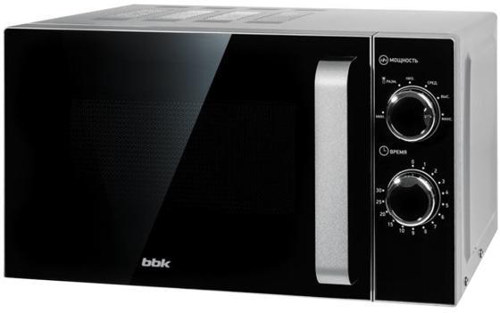лучшая цена Микроволновая печь BBK 20MWS-772M/S-M G 700 Вт серебристый