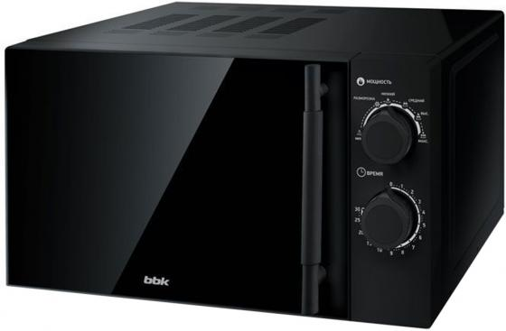 Микроволновая печь BBK 20MWS-773M/B-M G 700 Вт чёрный свч bbk 20mws 727s b 700 вт чёрный