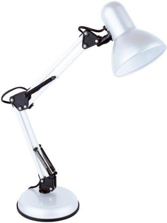 Светильник настольный Lucia Юниор (465-W) на подставке E27 белый светильник настольный lucia юниор на подставке 40вт черный [465 b]