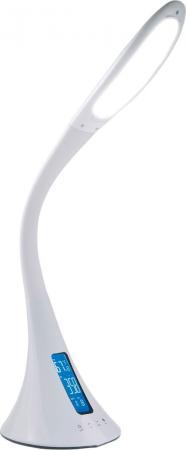 Светильник настольный Lucia Cleo (L730-W) на подставке белый 10Вт светильник настольный supra sl tl509 на подставке 10вт серебристый [12595]