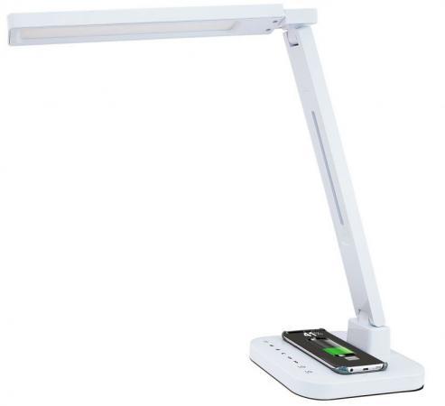 Светильник настольный Lucia Smart Qi (L900-W) на подставке белый 15Вт настольный светильник lucia школьник s 260 полоски