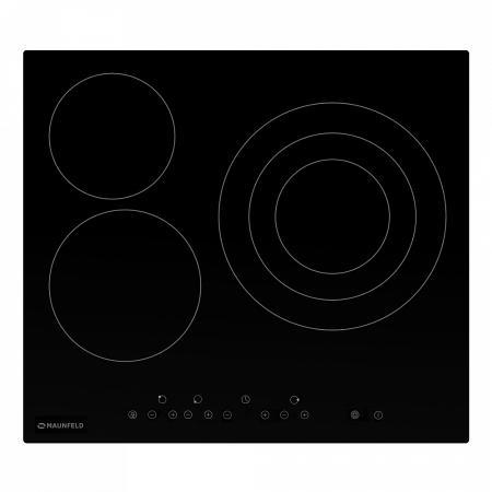 Варочная панель электрическая Maunfeld EVCE.593.T-BK черный электрическая панель maunfeld evce 594 bk