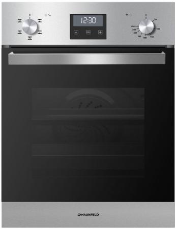 Электрический шкаф Maunfeld MEOXS 436 SL серебристый/черный