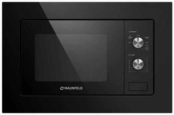 Встраиваемая микроволновая печь Maunfeld MBMO.20.2PGB 800 Вт чёрный цена и фото