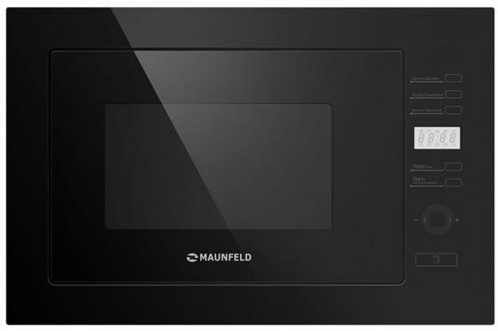 Встраиваемая микроволновая печь Maunfeld MBMO.25.7GB 900 Вт чёрный микроволновая печь bbk 23mws 927m w 900 вт белый