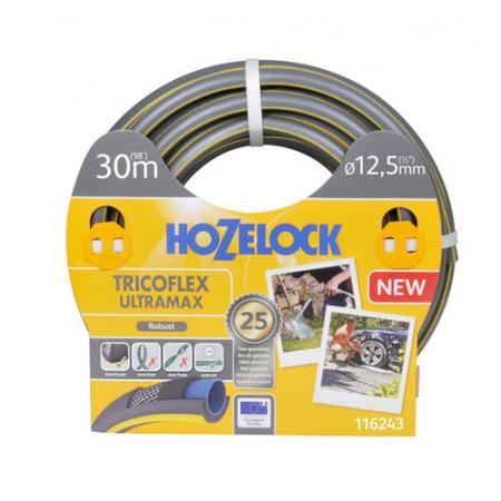 Шланг HOZELOCK 116243 TRICOFLEX ULTRAMAX 30м 1/2 пвх цена