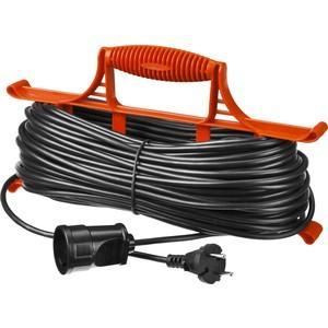 Удлинитель электрический STAYER MAXElectro 55018-20 на рамке, 20 м, 1 гнездо