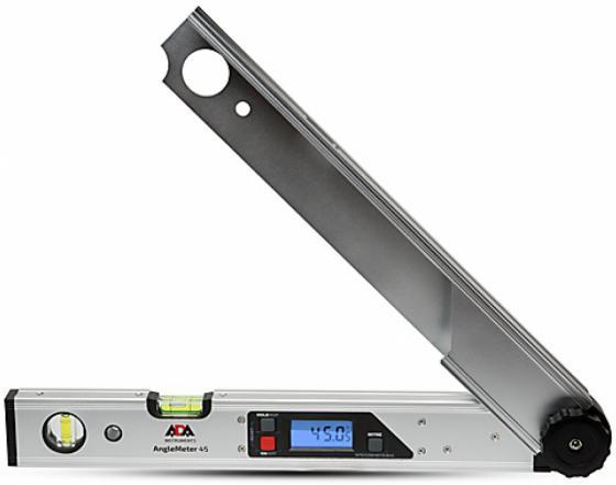 Угломер электронный ADA AngleMeter 45 точность±0.01град,автоматическая калибровка,чехол цена и фото