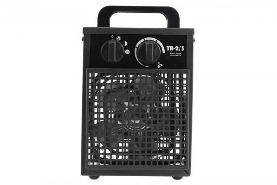 Тепловентилятор Daire ТВ 2/3 -01 2000 Вт чёрный DH0021