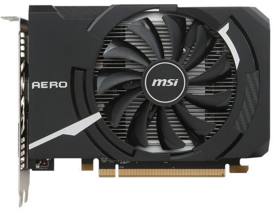 Видеокарта MSI Radeon RX 550 Radeon RX 550 AERO ITX 4G OC PCI-E 4096Mb GDDR5 128 Bit Retail RX 550 AERO ITX 4G OC