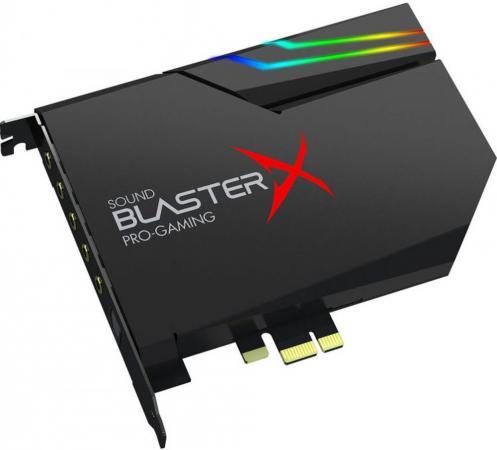 Звуковая карта Creative PCI-E BlasterX AE-5 (BlasterX Acoustic Engine) 5.1 Ret звуковая карта creative usb sound blasterx g6 sb axx1 7 1 ret