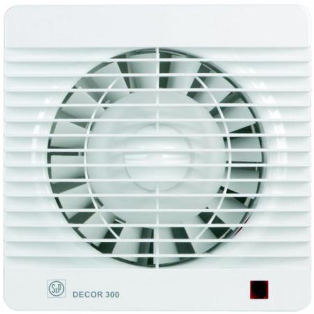Вентилятор SOLER&PALAU Decor 300S 250 м3/ч. Установочный д 150 мм. 46 dB(A) soler and palau decor 100c ivory